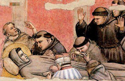 morte di San francesco