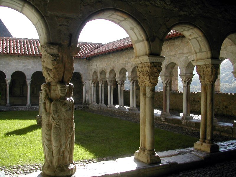 il chiostro di St.Bertrand de Comminges