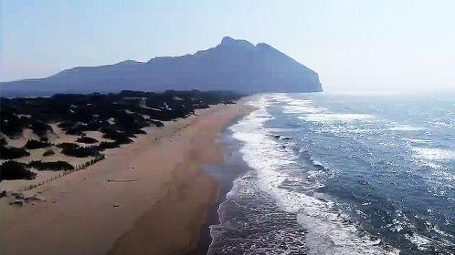 il litorale e il promontorio del Circeo