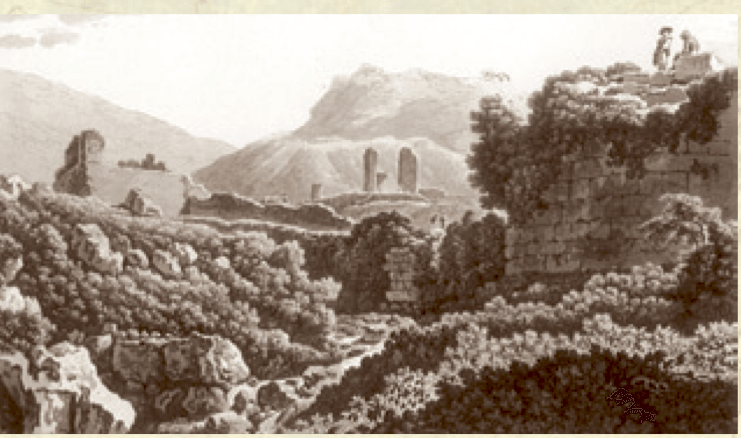 l'Appia , stampa 1789