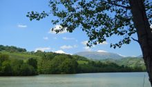 il lago e i monti